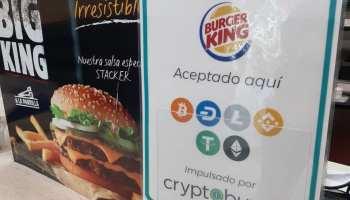 Pagar con Bitcoin en Burger King de Venezuela