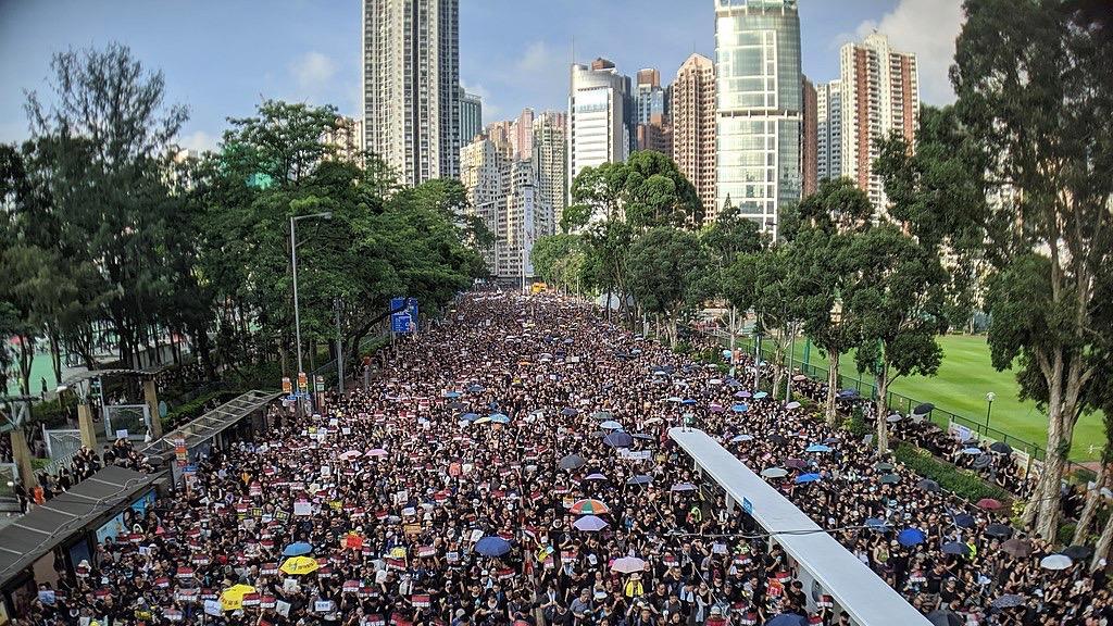Hong Kong protests are accelerating bitcoin adoption