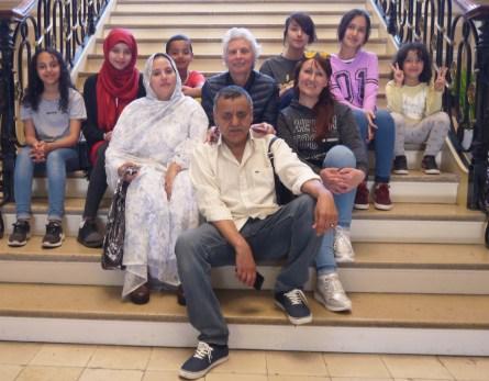 La famille Bellagh, oncles et neveux nièces de Naama