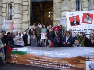 Depart de la Marche Solidaire - Mairie d'Ivry - Mai 2018