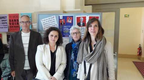Jean-Louis Halle, Sheerazed Boulkroun et Albane Gaillot, député du Val de Marne