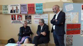 Pierre Laurent, Sénateur de Paris Secrétaire National du Parti Communiste - Philippe Bouyssou, Maire d'Ivry
