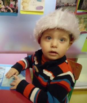 Casper eerste weken op school (december 2012)