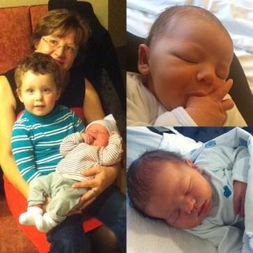 Lars, mijn eerste peetkind! (december 2012)