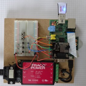My Raspberry Pi - electronics fun (May 2014)