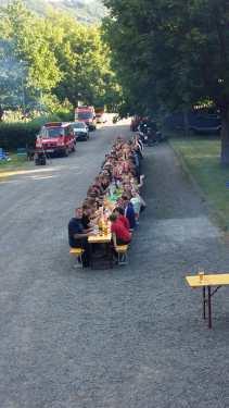 VG-Zeltlager in Norheim