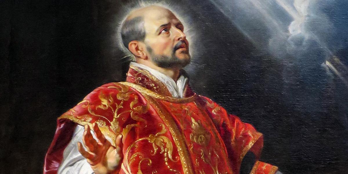 Humour : bientôt une rupture de stock des «Exercices spirituels» de saint Ignace ?