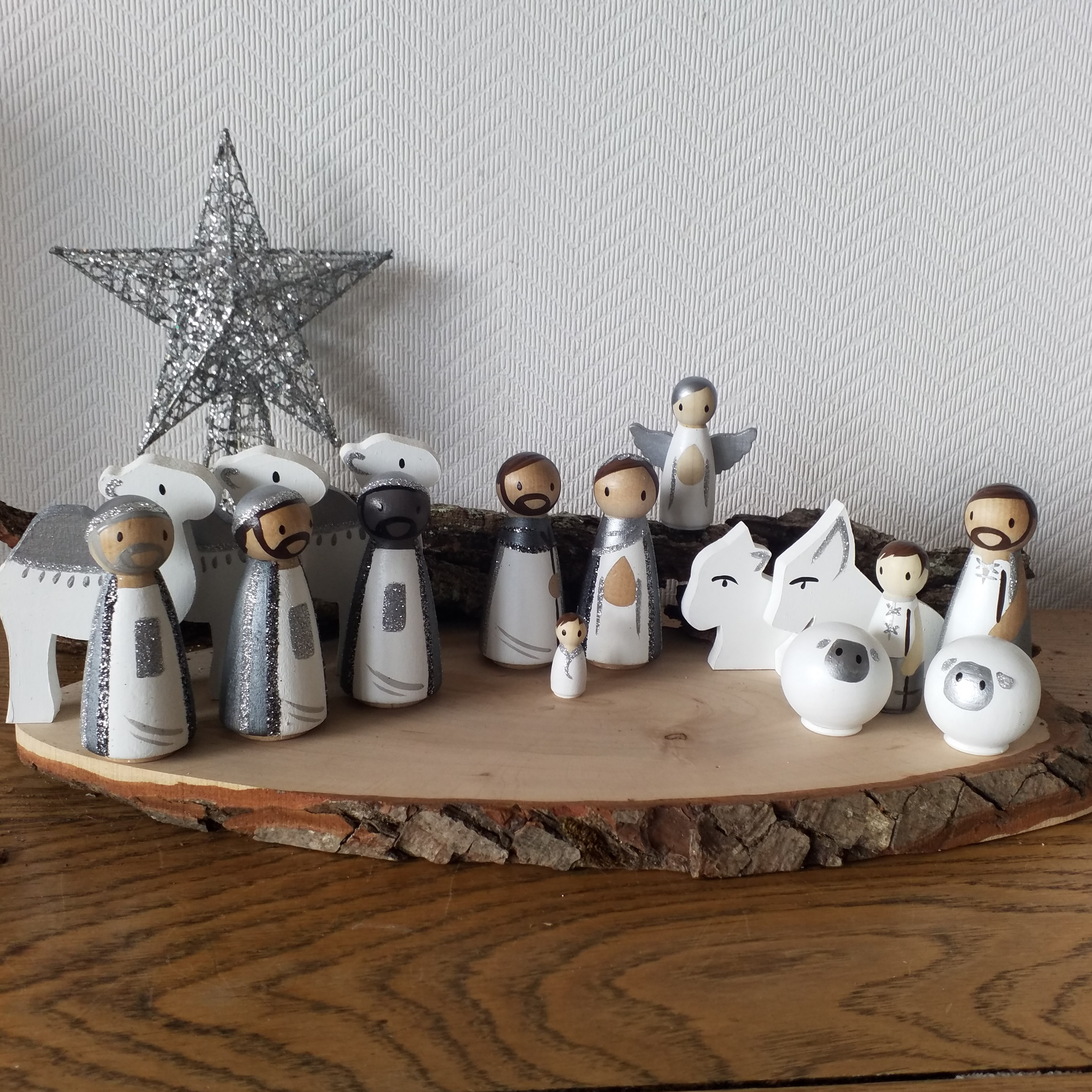 Douze idées de crèches de Noël pour préparer l'arrivée du divin enfant