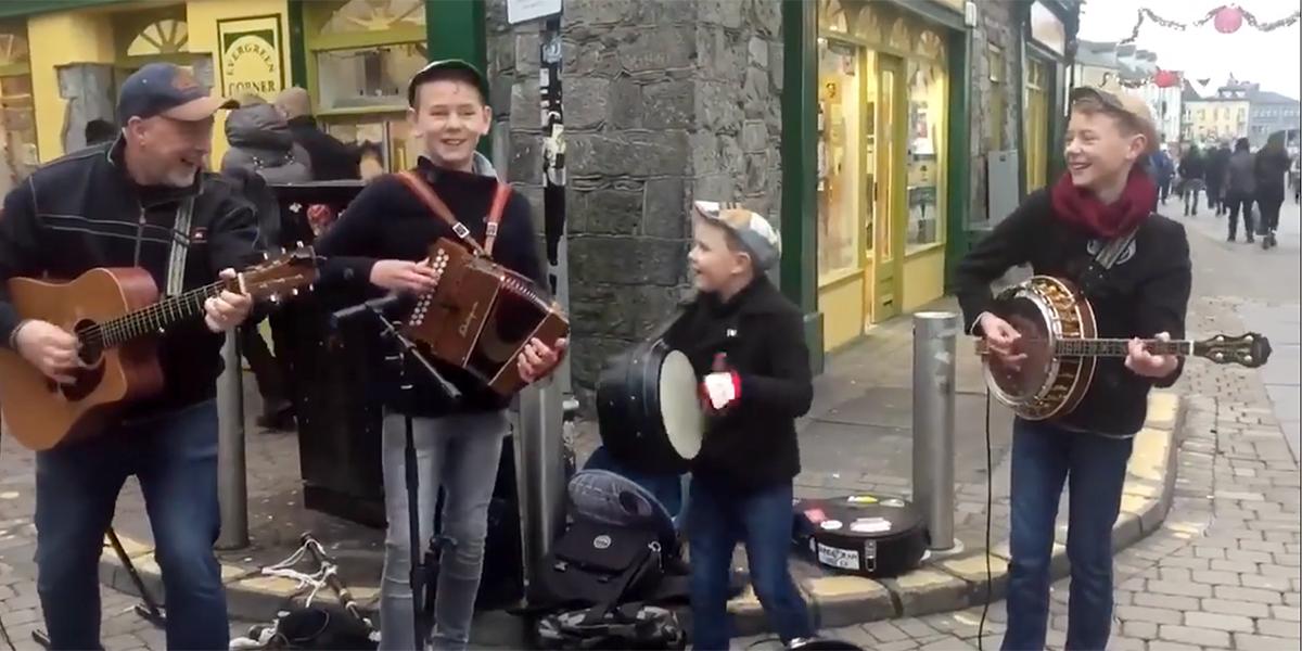 Écoutez cette famille irlandaise et vous aurez forcément envie de danser