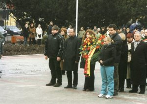 WBG Delegation in Auschwitz 2002