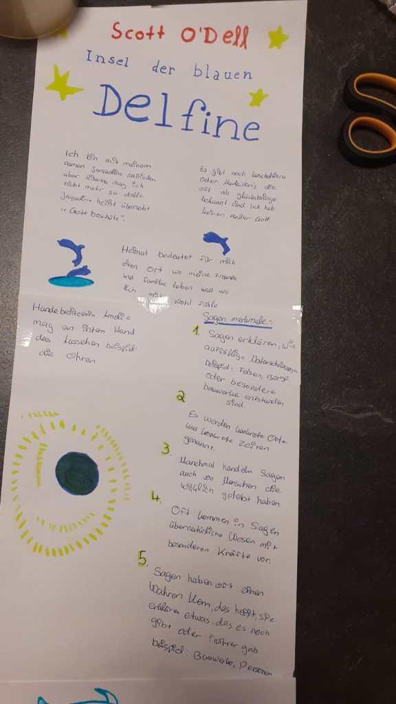 Insel der blauen Delfine, Jg6, Zobel, DG, 2020