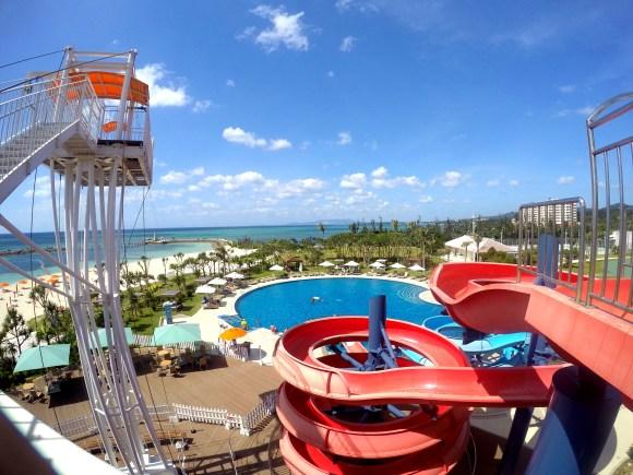 シェラトン沖縄サンマリナーリゾートのプール