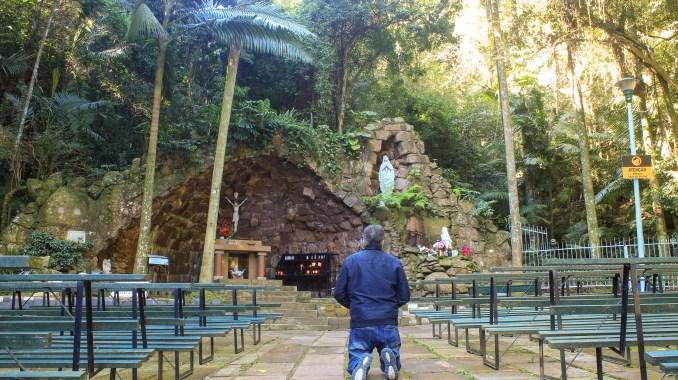Grotte de Lourdes à Porto Allegre Brésil