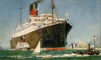 SS Andania Bron: