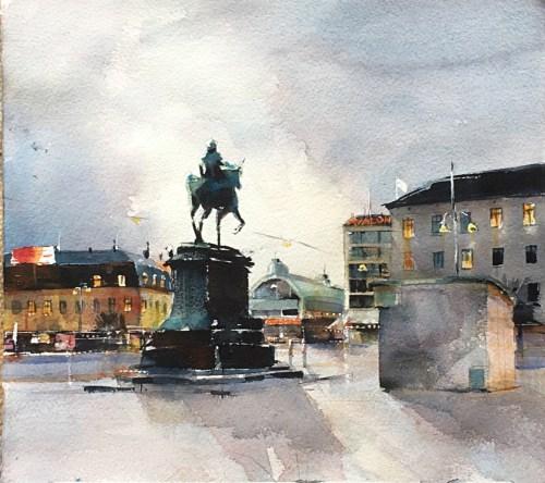 Kungspostrplatsen Göteborg