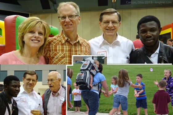 Meeting Pastor Stan and his wife; a good friend (another Stan) tries to explain American Football; picnic fun, throwing water balloons