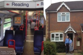 """Sept 2: """"take a ride on the Reading"""" (well, actually, TO Reading England, not the US """"Reading"""" named for it, and the subject of the famous opportunity card in Monopoly). We spent a wonderful day with former classmates (Xiamen Univ, 1980s)."""