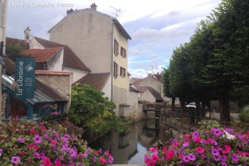 We spent a few nights in Crecy la Chapelle, not far from Paris.