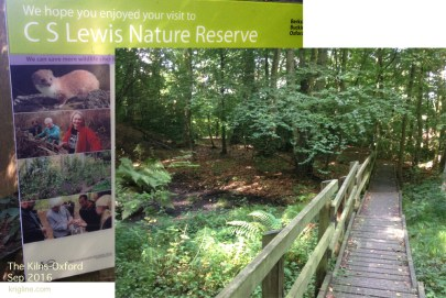 """CS Lewis owned 4 acres of land around """"The Kilns,"""" including a small lake. It is now a Nature Reserve."""