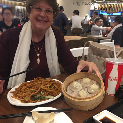 """A new food court opened near our church while we were away, so we were anxious to give it a try. Vivian shows how happy we were to find some """"mainland"""" favorites."""