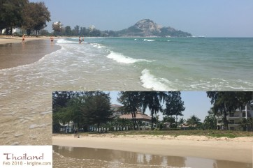 We've held the annual conference in many places, but none are as popular at this beach-front resort in Hua Hin Thailand. It is much less expensive than anything in Hong Kong, and our workers love the beach and pool--and who could blame them!