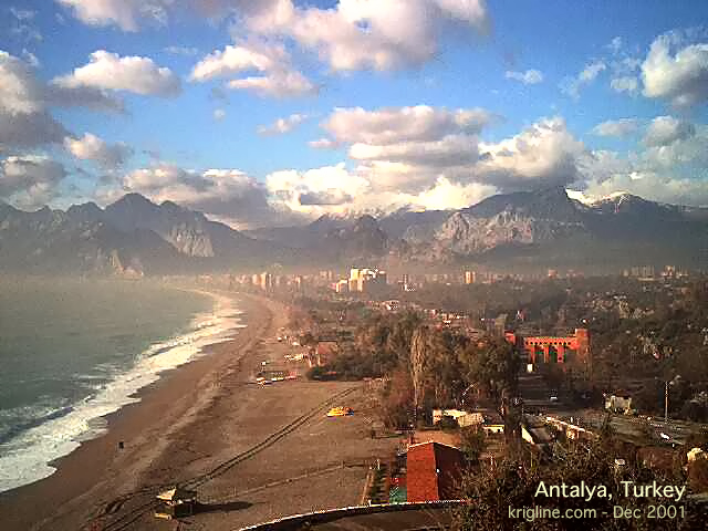 Antalya's beautiful Mediterranean beaches and snow-capped mountains attract a lot of European tourists annually, and it is easy to see why! The food is also wonderful—so what are YOU waiting for?