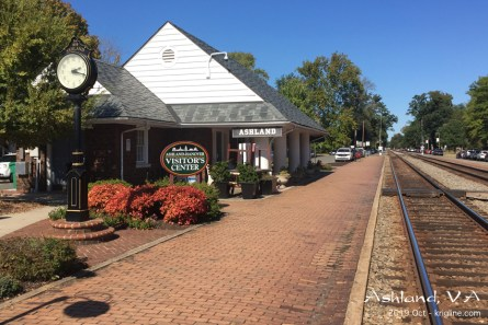 On my Oct trip, I found this historic train station in Virginia, and stopped to look around, and fill my empty gas tank and tummy! If you know what to look for, you can see video of this station on YouTube: https://youtu.be/3I6fJaSUt_U