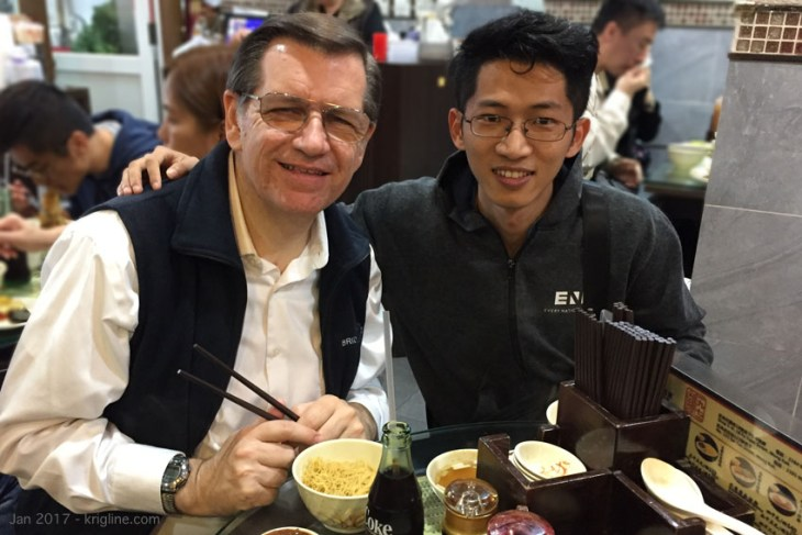 Ben was one of the first friends I made in Xiamen, after we moved there in 2011. He started 2017 with a visit to Hong Kong, and we were blessed to share a part of it together.