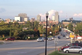 Columbia, SC, from Cayce, where Vivian grew up.