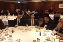 One highlight of most months is a luncheon with HK businessmen. The food is great, but I also appreciate the encouraging lectures and the contact with these leaders.