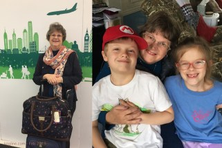Soon after we were back in Hong Kong, we were back at the airport yet again. Vivian needed to fly to Carolina to deal with her mom's estate and other family matters. And of course, we are always blessed to be with our precious grandchildren!