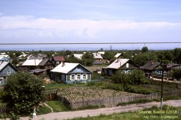 For days, I saw cottages like these all across Siberia.
