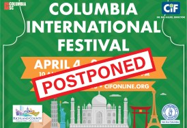 But the question is WHEN will the Festival take place? Well, it won't be April 3-5! A few days ago we decided to postpone, doing our part to help keep the virus from spreading.