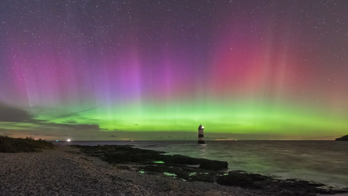Photo taken by Kris Williams from Penmon, Anglesey