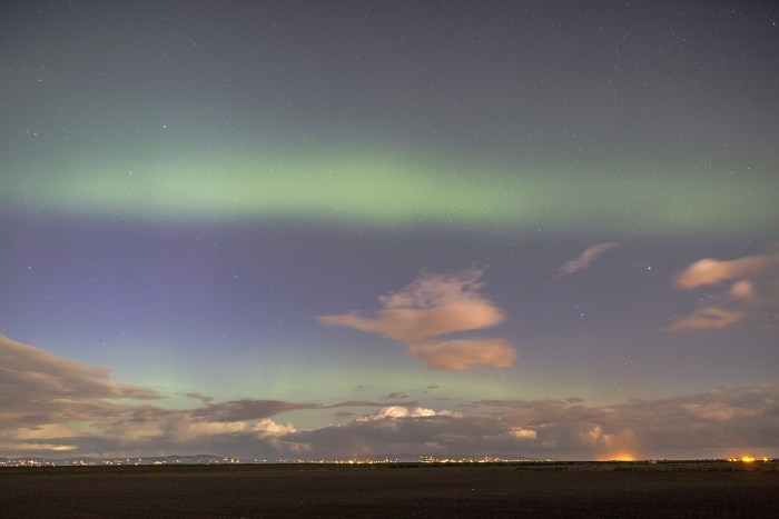 John Purvis captures multiple arcs from Northern Ireland.