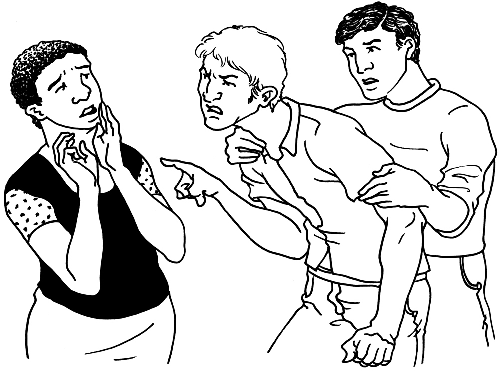 Accessible summary: Use of physical restraint on locked