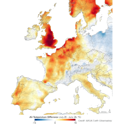 Improving UK air quality forecasts during heatwaves