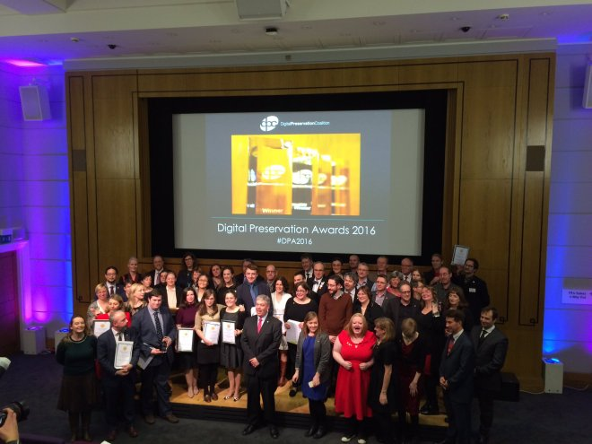 DPA Awards 2016 nominees and judges (Image @SueCorrigall licence OGL)