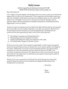 police officer resume skills firefighter cover letter example