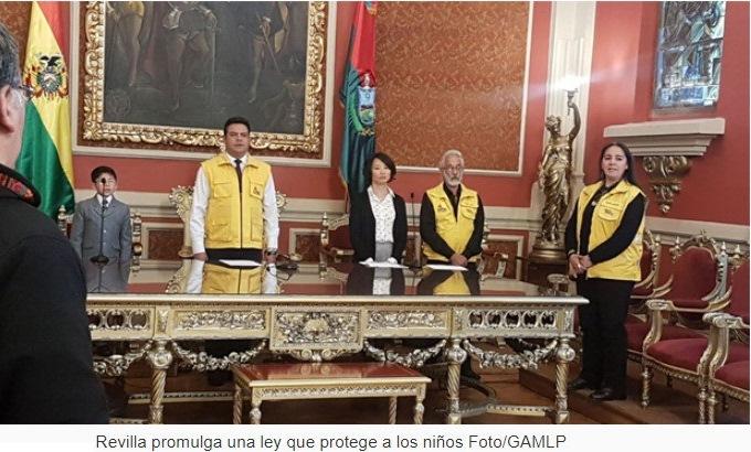 La Paz: Rige ley que protege integridad sexual de niños