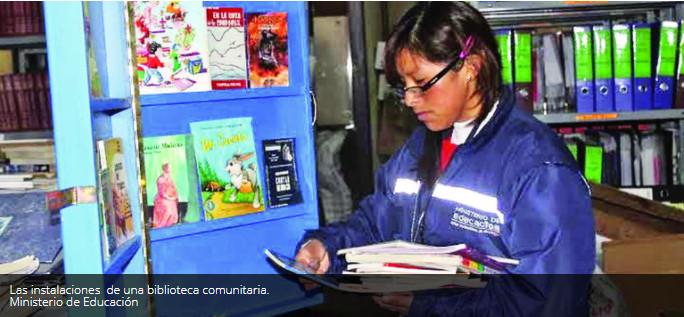 El Gobierno implementa 2.816 bibliotecas con libros donados