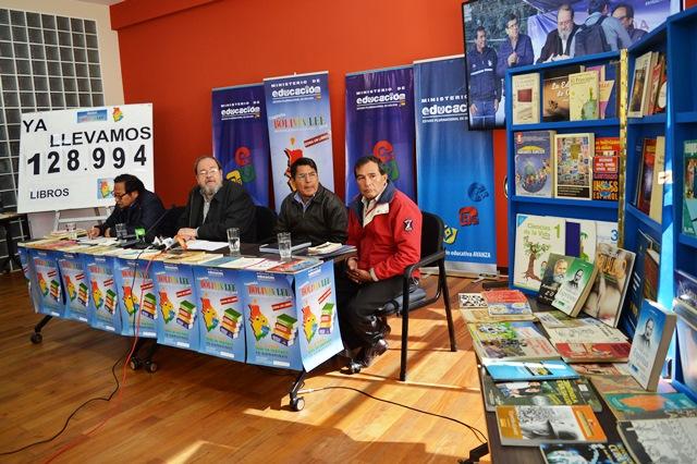 Campaña de recolección de libros llegó a 128.994 superando la meta establecida