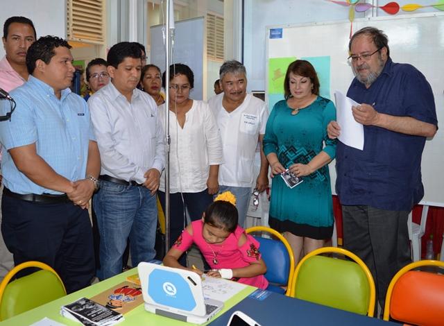 Pando: Educación inauguró aula hospitalaria en Cobija
