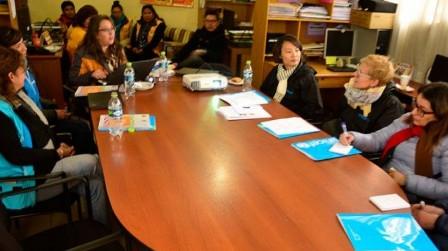 UNICEF y Embajada de Suecia visitan la ruta de la atención a niños víctimas de violencia