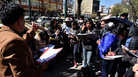 Estudiantes del UPEA pasarán clases en las calles de El Alto