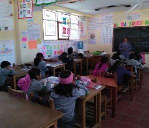 Comuna refacciona unidades educativas más alejadas