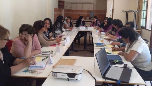Realizan el cuarto taller contra la violencia simbólica