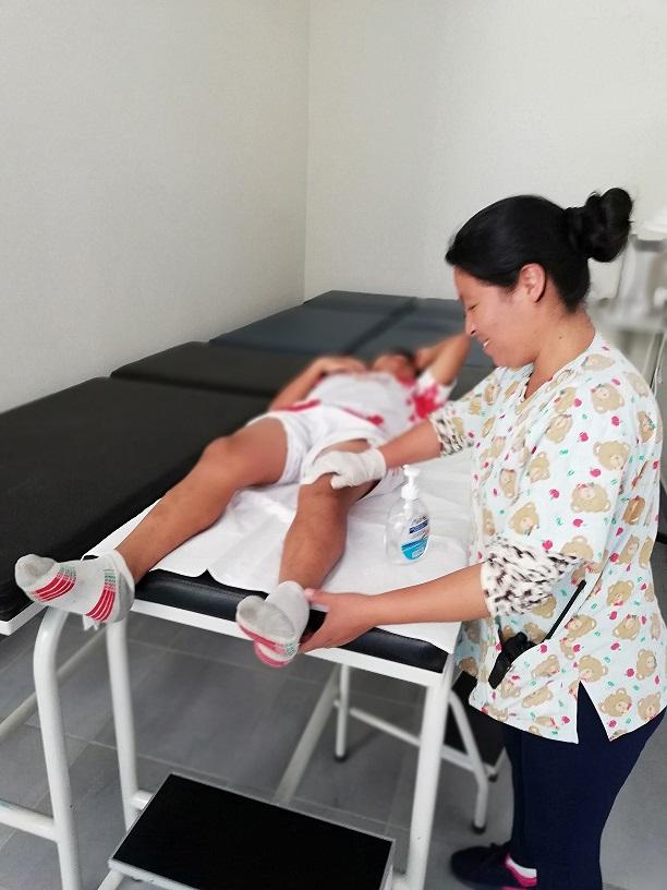 Pluris 2018 habilitó fisioterapia para los deportistas del nivel primario