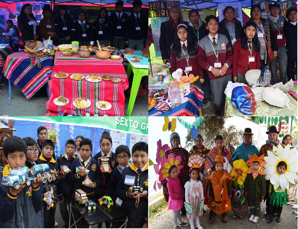Feria a la Inversa develó el trabajo de padres de familia, estudiantes y maestros en el ámbito educativo