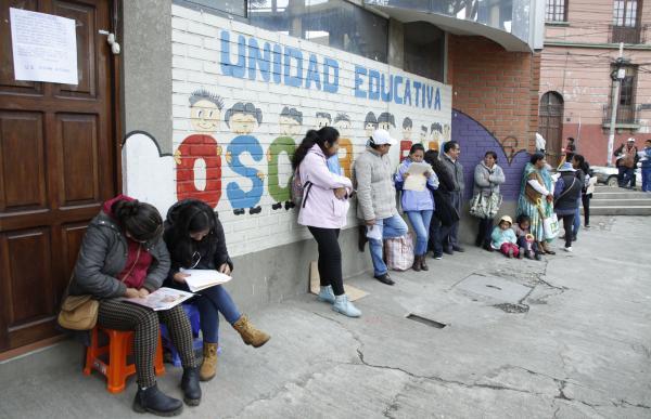 Alumnos del mismo barrio del colegio tendrán cupo asegurado